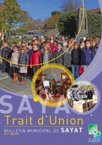 Bulletin municipal Sayat Trait d'Union n°6 - mai 2016
